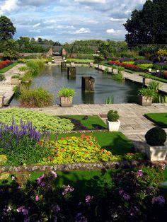 Sunken Gardens at Kensington Garden, London