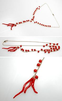 fine coral jewelry natural-red-coral-necklace. To see the source оf this item click on the picture. Please also visit my Etsy shop LarisaBоutique: https://www.etsy.com/shop/LarisaBoutique Thanks!