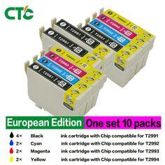 10 Pacco T2996 29XL Cartuccia di Inchiostro Compatibili Per EPSON XP 235 335 332 432 435 442 332 342 345 245 247 Stampante