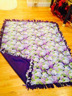 fleece tie blanket