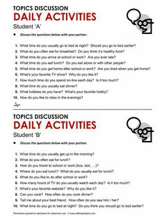 Esl topics for conversation for adults for lovely