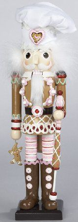 Wooden Gingerbread Baker Christmas Nutcracker