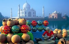 Taj Mahal Agra Tours, Travel, Agra Holiday Packages - Book Delhi, Jaipur & Agra Golden Triangle Tour of India Nepal, Le Taj Mahal, Bali, Fairs And Festivals, Golden Triangle, North India, India Tour, Love Symbols, Art Festival