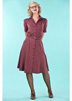 1940er inspireret skjortekjole fra Emmy Design