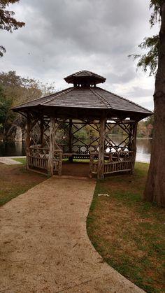 Upgraded Gazebo Landa Park, New Braunfels, TX