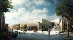 Gallery of The New Urban School, Mixed Use Sports Complex Proposal / EFFEKT + Rubow - 7