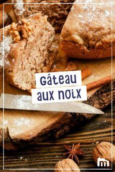 Gâteau aux noix /// #gâteau #noix #dessert #recette #cuisine #marmiton