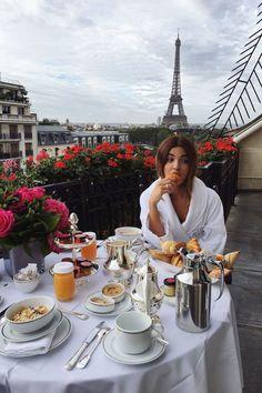 Negin Mirsalehi's Dior Diary - SS17 PFW - September 2016