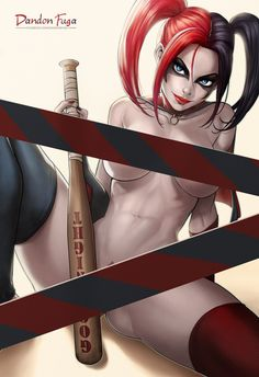 Dandonfuga is creating Sexy Pinup Girls and Character Illustrations!