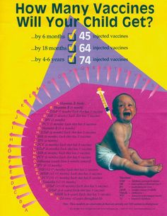 how many vaccines will your child get?