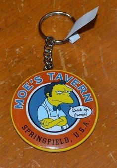 #TheSimpsons #MoesTavern #BottleOpener #Keychain #themepark exclusive for sale in my ebay store