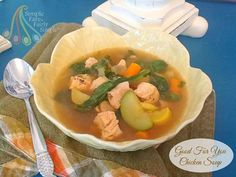 Simple Fare, Fairly Simple: Good For You Chicken Soup