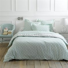 1000 images about linge de maison on pinterest zara for Housse de couette verte
