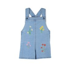 Floral Embroidered Edith All In One - Stella Mccartney Kids Official Online Store - SS 2017