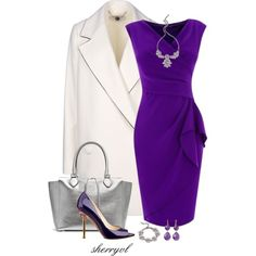 Dannijo And Silver And Purple Contest, created by sherryvl on Polyvore