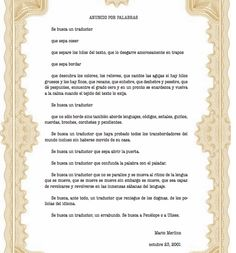 Anuncio por palabras | por Mario Merlino | Libro Blanco de la traducción editorial en España | http://www.cedro.org/files/libro_blanco_acett_2010.pdf