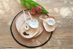 Painted Spoons, Hand Painted, Portugal, Served Up, Artisanal, Sunset, Bathroom, Kitchen, Shop