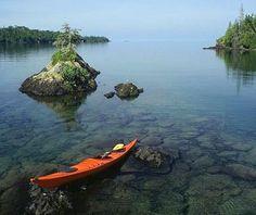 Isle Royale, MI - one of 'America's Most Beautiful Coastal Views' #travel