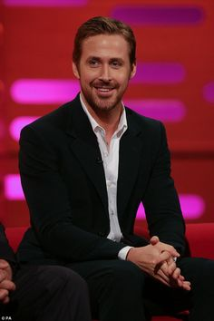 Bad service: During Friday night's episode of The Graham Norton Show, actor Ryan Gosling recounted an unfortunate incident in which he wound up with a mouthful of 'belly hair' from his masseur