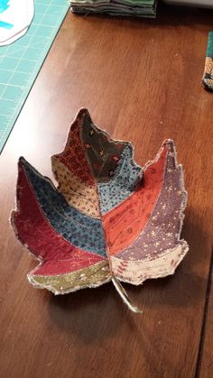 Fabric leaf bowl                                                                                                                                                                                 More