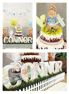 Peter Rabbit Birthday Party Ideas   Photo 2 of 16   Catch My Party