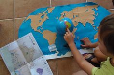 Culture Swap con Argentina - Culture Swap with Argentina • Montessori en Casa