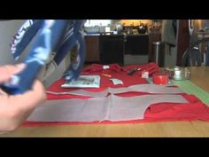 Here is the first video in a series of three demonstrating how to make a Thundershirt.
