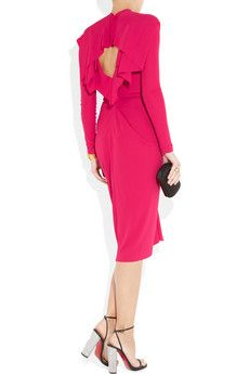 Roland Mouret : The only designer for whom I would consider wearing fuchsia....