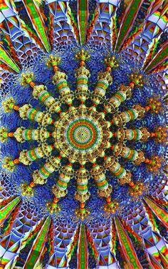 Mandala Fractals by Hosse7.deviantart.com on @deviantART