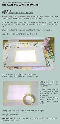 Watercolours tutorial lesson 2 by ~Zmarzlena on deviantART