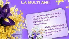 MESAJE DE SFANTUL GHEORGHE:Pe 23 aprilie, creştinii ortodocşi sărbătoresc Sfântul Gheorghe, iar cei care poartă numele acestuia îşi serbează onomastica. În cazul în care ești în pană de inspirație,R