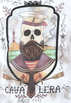Camiseta Cavalera Indie Dead Seaman Cinza