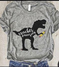 Teacher -Saurus T-shirt