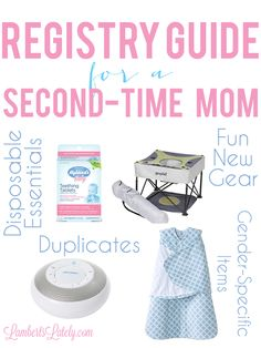 18 Things Virtually Every 2nd Time Mom Would Love as Gifts | Baby ...