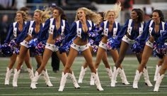 My favorite thing about being a Dallas Cowboy fan; the Cheerleaders!