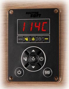 Szauna vezérlő finn, infra és kombiszauna - Finn szauna, infraszauna, kültéri szauna, faház építése Digital Alarm Clock, Home Decor, Decoration Home, Interior Design, Home Interior Design, Home Improvement