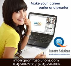 Highly Experienced and Certified Trainers for all IT Courses at Quontra Solutions Hurry up!!! Excellent Opportunity grab it…...  Cognos /ETL/CCNA/QA/BA/.NET/Java/Testing/Networking Courses online Training  100% Placement Assistance(Anywhere in USA)  Please contact us for enrollment details:  3427 Vintage cir, SE Smyrna, GA-30080 Contact: (404)-900-9988 Email: info@quontrasolutions.com