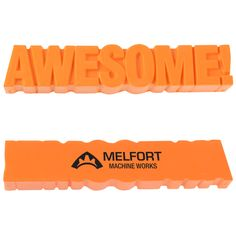 """The promotional word of the day is """"awesome""""!"""
