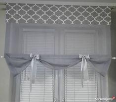 Diy Blinds, Curtains With Blinds, Valance, Barn Door Decor, Cute Apartment, Bathroom Windows, Window Dressings, Curtain Designs, Roman Blinds