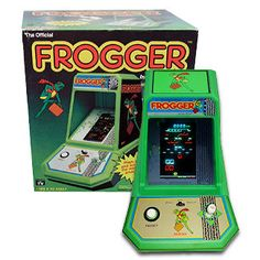 Frogger Coleco Tabletop Electronic Arcade Game