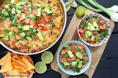 mexicansk-risret-one-pot-risret, opskrift, mexicansk-mad, aftensmad, boernevenlig, nem-aftensmad
