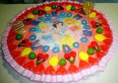 Tarta Princesas Disney