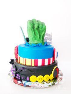 #Avengers #Cake #Vengadores #Torta #HawkEye #BlackWidow #CaptainAmerica #Thor #Ironman #Hulk #ViudaNegra#CapitánAmérica