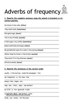 Playing With Adverbs | Adverbs, Worksheets and Free printable