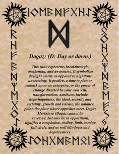 Keeping the Order of the Runes as we know it so far for divination, you will find out, what's your Birthday's Rune is and what does it really mean! Norse Runes, Rune Viking, Les Runes, Ancient Runes, Elder Futhark Runes, Norse Mythology, Viking Symbols, Celtic Runes, Viking Shield