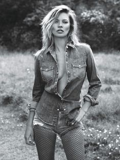 Kate Moss by Mert & Marcus for W Magazine September 2014