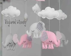 Elephant Mobile Baby Mobile Custom Mobile not ready made