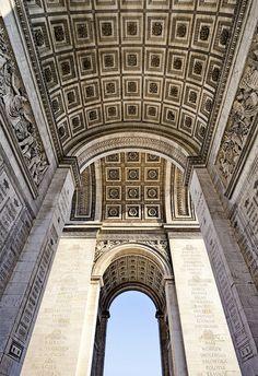 Arc de Triomphe by Laurent #photography on Flickr. #Paris #France