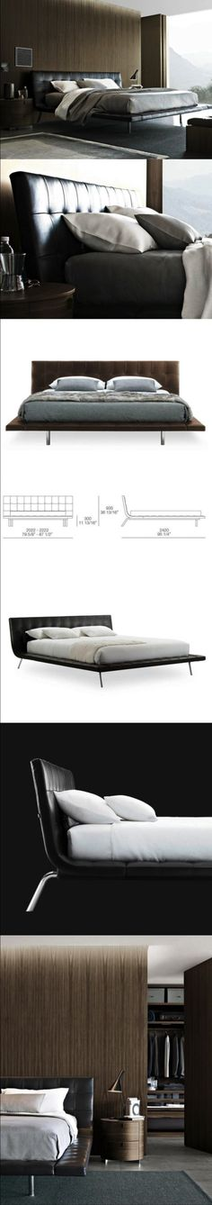 Onda is the last bed born by the cooperation between Poliform and the arch.Paolo Piva. The bed Onda is a modern element of decoration, characterized by strong personalization. The light structure matches with the capitonné in leather of the headboard. A true protagonist of the night room, for those who want to feel unique in their home. Variety is the word to define the collection: fourteen different proposals, fourteen ideas for the night area; functionality, design and emotions are joined…