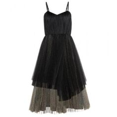 Marc by Marc Jacobs - Metallic tulle dress #dress #marcjacobs #women #designer #covetme #marcbymarcjacobs